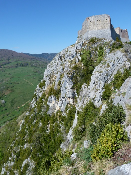 Montsegur from Tower Rock