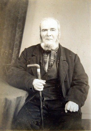 My great-great-grandfather, John Melross (1824-1906)
