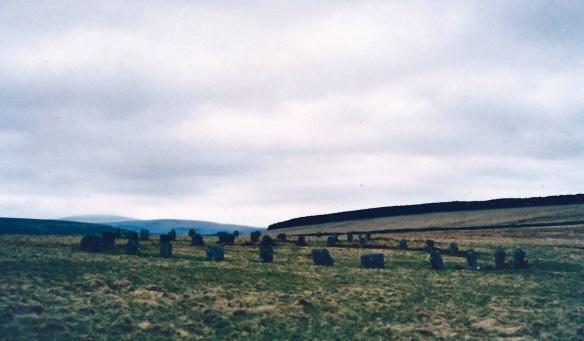 Avebury stone circle, 1979.