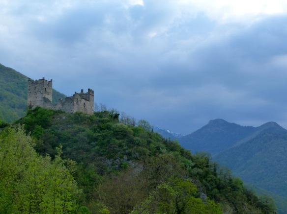 Chateau de Miglos, Vicdessos.