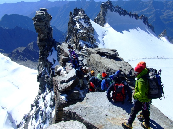 Gran Paradiso summit ridge (4061m)