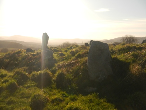 Standing stones of Eslie the Lessor