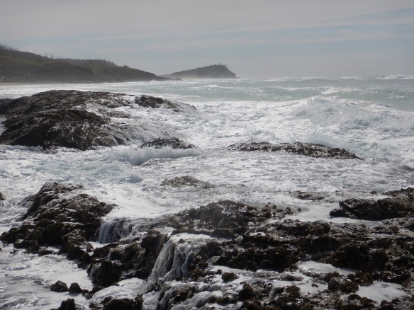 Looking north from Champagne Pools